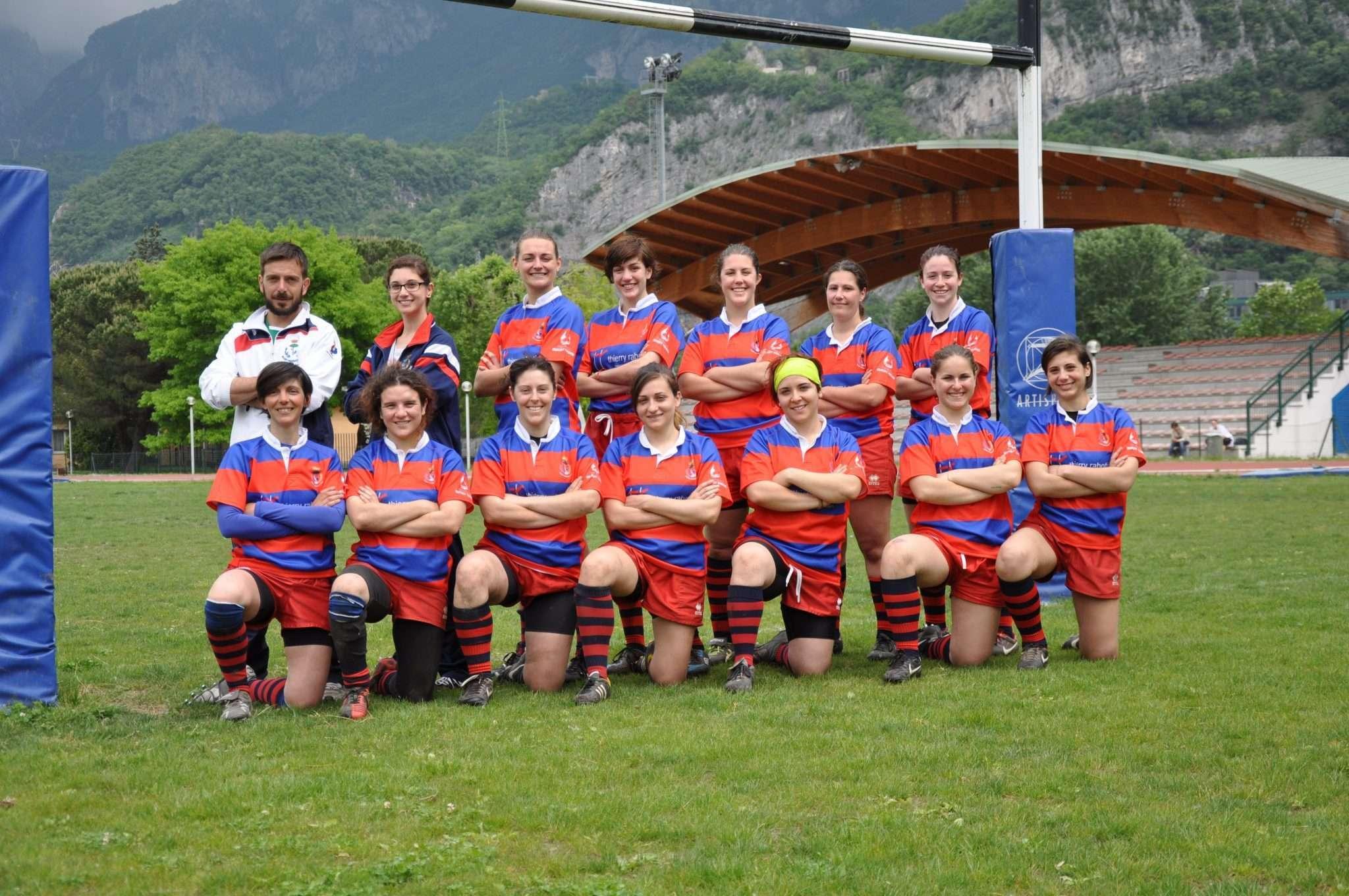 Foto di squadra a Lecco
