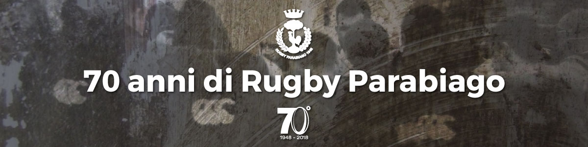 70 anni di Rugby Parabiago